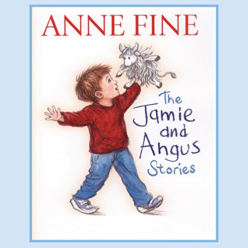 The Jamie and Angus Stories audiobook cover art