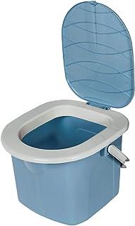 BranQ 1306 - Inodoro para Camping, Gris, M, Niños, Inodoro portátil para Camping., 1305, Azul Claro, 15,5l