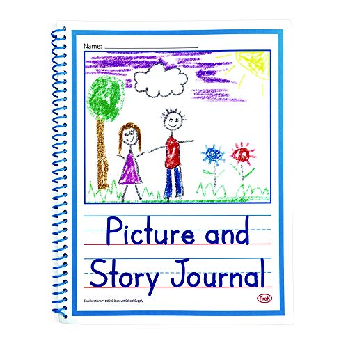 Excellerations PREKJRNL Beginner's Story Journals (Pack of 10)