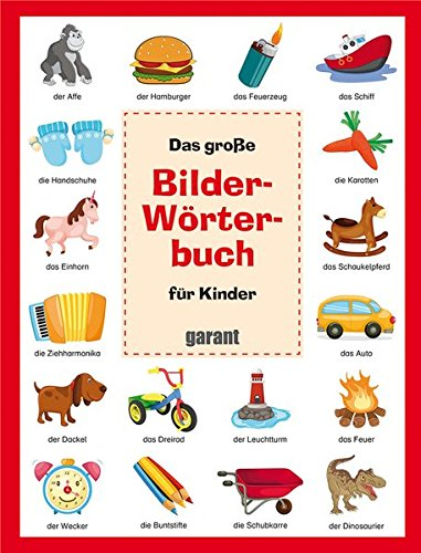 Bilderwörterbuch für Kinder Deutsch