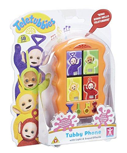 Teletubbies Tubby Spielzeugtelefon (in englischer Sprache), Mehrfarbig