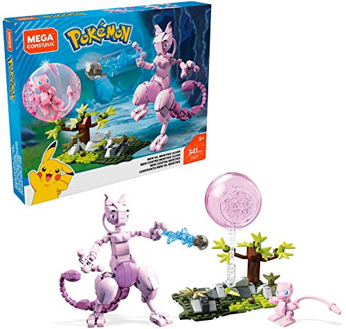 Mega Construx Pokemon Mew vs. Mewtwo Clash