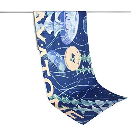 LayaTone Badetücher für Reise Premium Quick Dry Pool Handtuch für Schwimmer Kinder Erwachsene