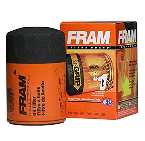 Fram PH7317 Extra Guard Passenger Car Spin-On Oil Filter (Pack of 2)
