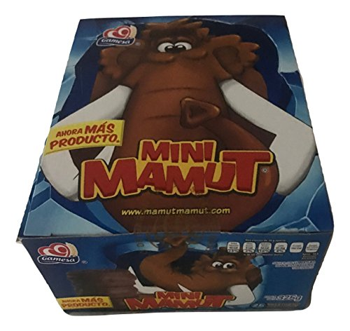 Gamesa Mini Mamut Marshmallow & Cookie Chocolate Covered Mexican Sweet Candy 25 Pcs (11.6 oz)