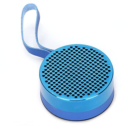 Zhat Altavoz Bluetooth, Carcasa de Silicona y diseño de Interfaz A Prueba de Golpes Mini Altavoz Bluetooth a Prueba de Polvo IPX7 Impermeable para Exteriores para Ducha