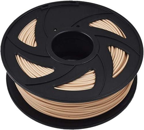 lowest ABS 3D Printer Filament - 2021 2.20 lb (1KG) The Diameter of 3.00 mm, Dimensional online sale Accuracy ABS Multiple Color (Imitation Wood) outlet online sale