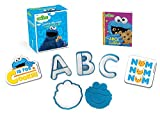 Sesame Street: Cookie Monster Cookie Cutter Kit (Running Press Mini Editions) officially Licensed Featuring one of Sesame Street's most popular characters, the Cookie Monster Cookie Cutter Kit includes fun cookie cutters in the shape of the ABCs (and...