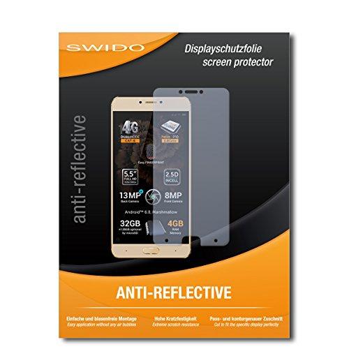 SWIDO Schutzfolie für Allview X3 Soul Plus [2 Stück] Anti-Reflex MATT Entspiegelnd, Hoher Festigkeitgrad, Schutz vor Kratzer/Bildschirmschutz, Bildschirmschutzfolie, Panzerglas-Folie