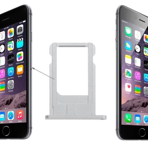 Carrello SIM per Apple iPhone 6 Silver Argento Compatibile BOMAItalia