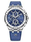 Maurice Lacroix Aikon Special Edition Reloj de Quartz plata/azul