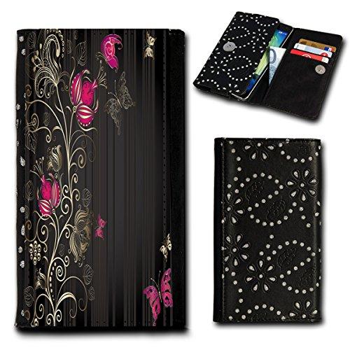 Book Style Flip Handy Tasche Hülle Schutz Hülle Foto Schale Motiv Etui für ZTE Blade A452 - Flip SU2 Design2