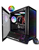CUK Continuum Micro Gamer PC (AMD Ryzen 5 with Radeon Graphics, 16GB 3200MHz RAM, 256GB NVMe SSD, 500W PSU, AC WiFi, No OS) Gaming Desktop Computer