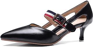 BalaMasa Womens ASL06380 Pu Heels