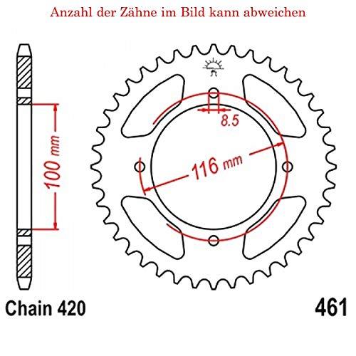Kettenrad mit 54 Zähnen für KX 80 T 1993-1994 von jt-Sprockets