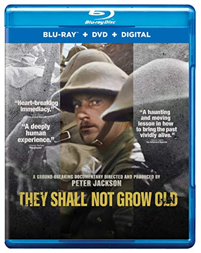 They Shall Not Grow Old (Blu Ray + DVD + Digital Combo Pack) [Blu-ray]