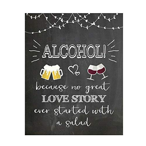 Tin Sign Wall Decor Alcohol Joke Funny, Retro Vintage Style Metal Sign/plaque Man Cave Shed Bar Pub,20x30cm