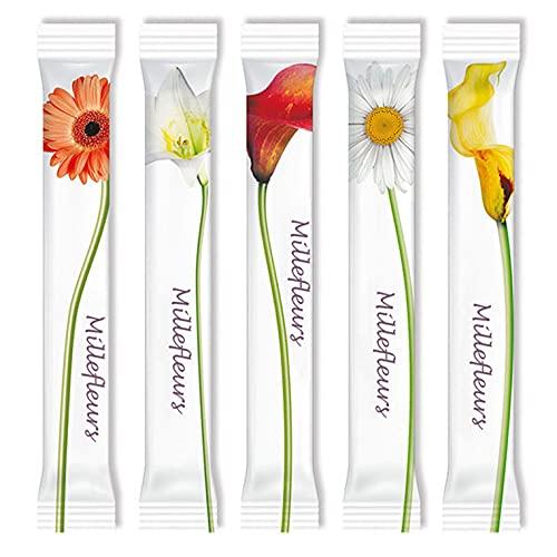 Zuckersticks Millefleurs 1000 x 4g Feinzucker | Natürlich nachhaltiger Markenzucker aus deutschem Zuckerrübenanbau