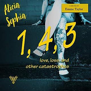 1, 4, 3 audiobook cover art