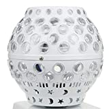40W Moving Head Stage Lights LED Lantern Light Color LED Disco Ball Lamp Strobe Party Stage Lights DJ KTV Bar Club Party Lamp Stage Effect Lighting Magic Ball Table Lamps