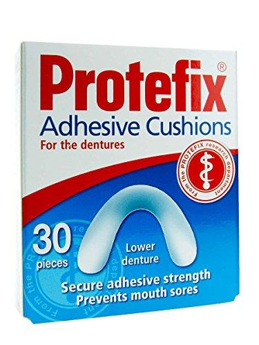 Protefix - Almohadillas Adhesivas para Protesis Dentales