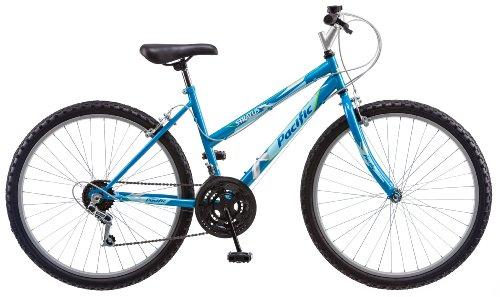 Pacific Stratus Mountain Bike, 26-Inch Wheels, Blue