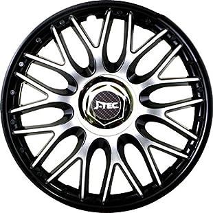 "Hubcaps ""Orden Black"" Wheel Trims Set of 4 (15 inch):Kumagai-yutaka"