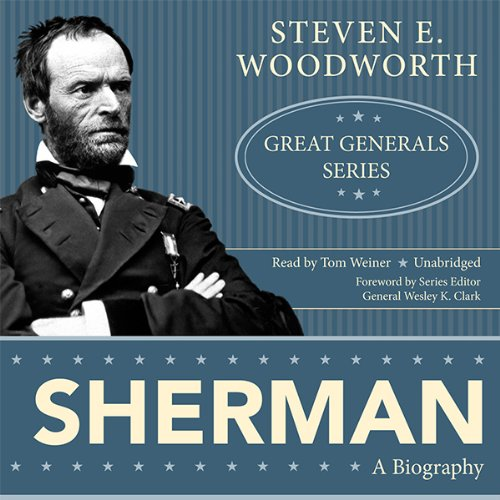 Sherman audiobook cover art