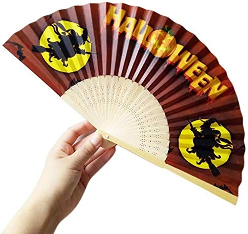 Opvouwbare ventilator,Retroheks Hand gesneden bamboe Retro stijl houten mooie fans decoratieve Craft Fans