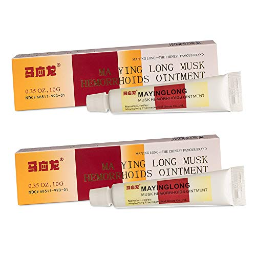 Ma Ying Long Hemorrhoid Cream 2 Pac…