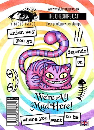 Visible Image sichtbar Bild Das Cheshire Katze Stempel Set