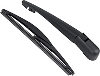 X AUTOHAUX Rear Windshield Wiper Blade Arm Set for 06-18 Suzuki SX4 10-18 Mitsubishi Outlander Sport
