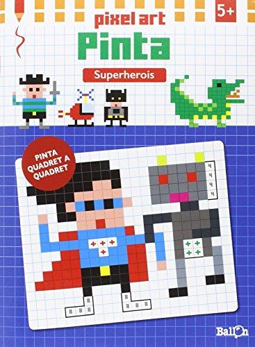 Pixel Art Pinta. Superherois