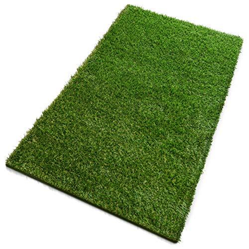 Premium Kunstrasen | Rasenteppich | Rollrasen | Kunststoffrasen | Garten-Rasen | Rasen für Balkon, Terrasse & Garten | viele Modelle | verschiedene Größen & Stärken (Nantes (Höhe: 35mm), 200x700 cm)