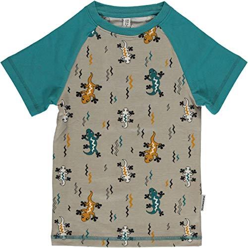 Maxomorra Baby T Shirt Bio Baumwolle Eidechse (74/80)