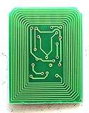 hongway COMPATIBLES con la Impresora OKI C5650chip de tinta para Oki 5750Toner Reset Chip (incluyendo 2set) un paquete