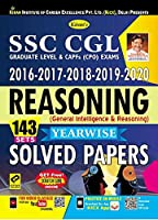 Kiran SSC CGL 2016-2017-2018-2019-2020 Reasoning Yearwise Solved Papers (2983)