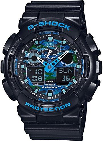 [カシオ] 腕時計 ジーショック GA-100CB-1AJF ブラック