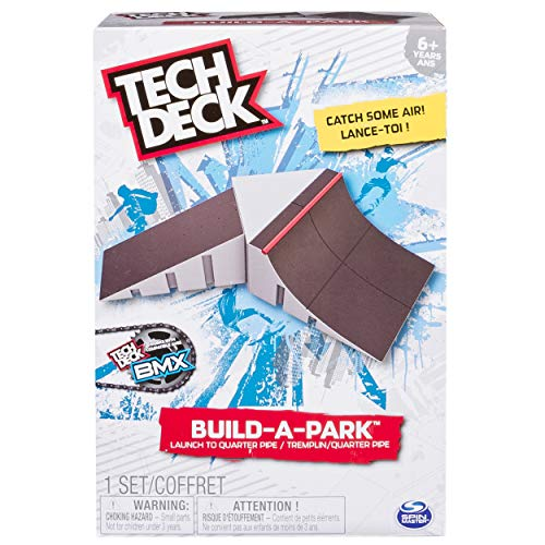 Tech Deck 20072669 - Build-A-Park - Launch To Quarter Pipe Customize Your Park By Building It Your Way And Adding Additio l Build-A-Park Sets (Each Sold Separately)., Multi
