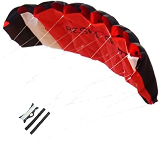 Besra Huge 74inch Dual Line Parachute Stunt Kite with Flying Tools 1.9m Power Parafoil..