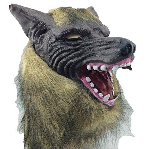 LGTM 本物 そっくり 狼 リアル マスク