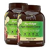 GNC Earth Genius PurEdge Plant-Based Gainer, Natural Vanilla, 4.44 lb(s)