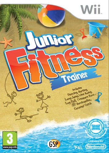 Junior Fitness Trainer (Wii) [Importación inglesa]