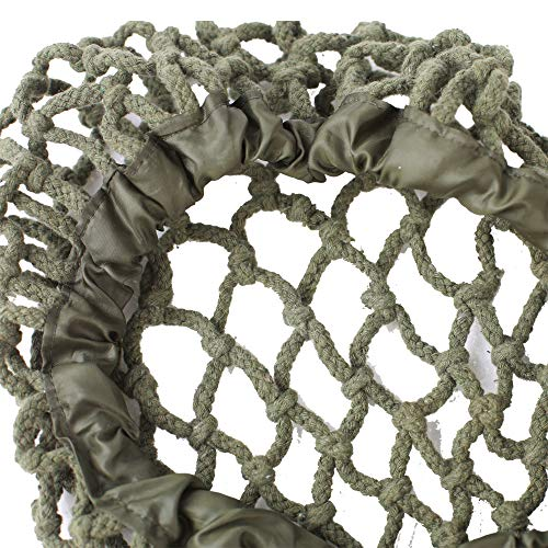 WWII US Army M1 TAC Helmet Net Cover Tactical Militaria Camouflage Thick Cotton Rope Webbing Cover for M1 MK2 M35 M88 Helmet