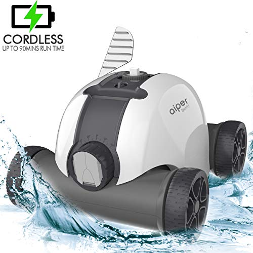 AIPER Cordless Automatic Pool Cleaner,...