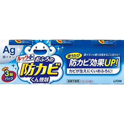 【まとめ買い】ルック おふろの防カビくん煙剤 フローラルの香り 4g×3個パック