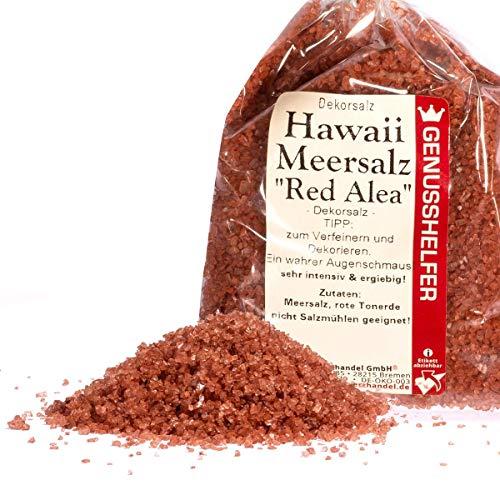 Bremer Gewürzhandel - Hawaii Salz Red Aleo 100 Gramm - Rotes Dekorsalz von der Insel Molokai - Aus Pazifik Meerwasser