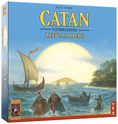 999 Games 999-Kol03B Catan: De Zeevaarders Bordspel Bordspel, Alle Kleuren