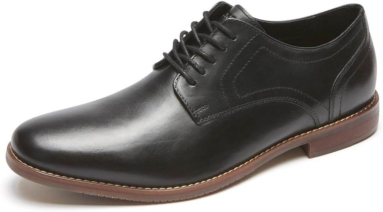 Rockport Men's Symon Oxford shoes, 9.5 W, Black