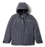 Columbia Girls' Big Horizon Ride Jacket, Black Sparklers Print, Large